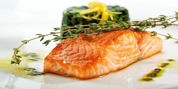 Salmon con Miel